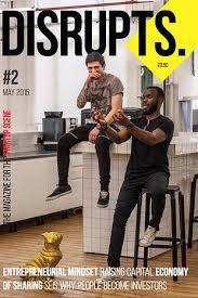 disrupts magazine